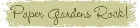 Paper Gardens Rock! Logo
